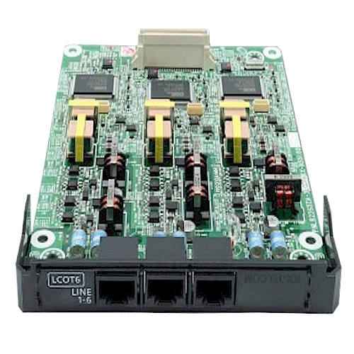 KX-NS5180 6-Port Analog CO Trunk Card with Caller ID