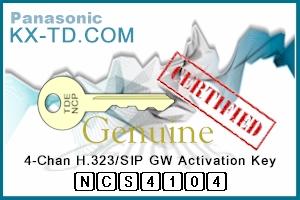 4 Ch H.323/SIP GW Activation Key