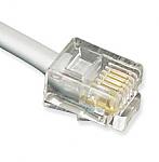GCLB466014 / 14' Flat Line Cord 6P4C SV