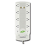 8 outlet AC protection, 1 COAX