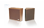 1W/1Way Bi-Direct Speaker, Dark Brown