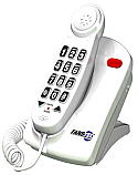 EzPro T56 56 dB Amplified Phone - White