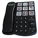 8 Key Picture Phone with 40db Handset