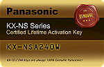 KX-NSA240W Communication Assistant Pro Activation Key - 40 Users