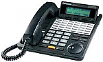KX-T7433B-R Panasonic 24 Btn Large Display/Non-Backlit Phone