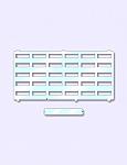 Telephone Plastic Cover for Panasonic KX-T7425, 7433, 7436, 7456