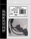 EZ80003232 2 Analog x 2 Digital Cheater Cord