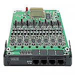 KX-NS5174 16-Port Single Line Analog Extension Card with Caller ID (FSK) and Message Waiting Lamp control