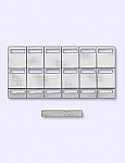 Telephone Labels for KX-T7420, KX-T7431 phones