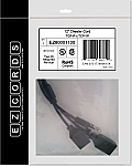 EZ80001100 TCP/IP x TCP/IP Cheater Cord